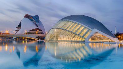 Krásné město Valencie